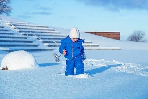 Snow, Child, Girl, Cold, Children
